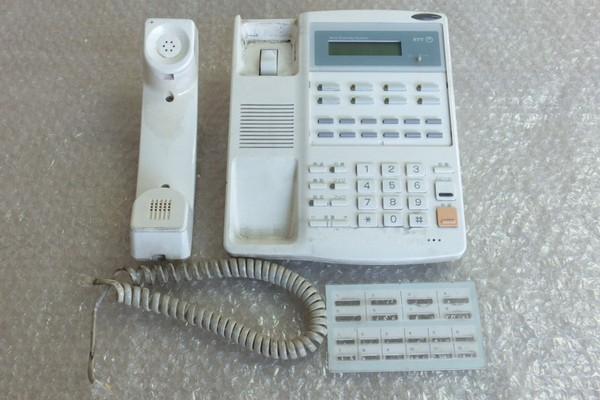 中古電話機クリーニングの様子1