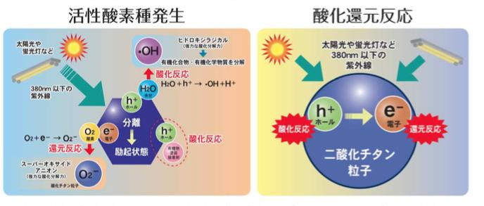光触媒の基本原理